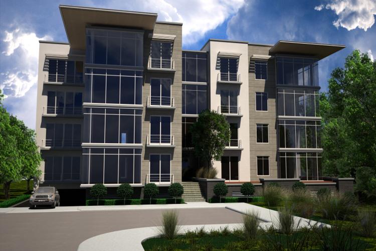 Condominio capannori for Pisos de apartamentos modernos